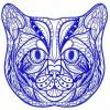 Mosaic cat 3