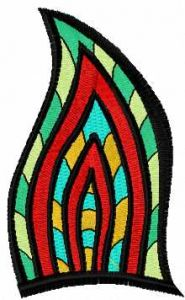 Abstract decoration 1 embroidery design