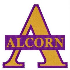 Alcorn State Braves and Lady Braves logo embroidery design