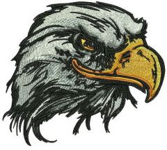 American eagle 2 embroidery design