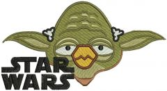 Angry birds star wars embroidery design