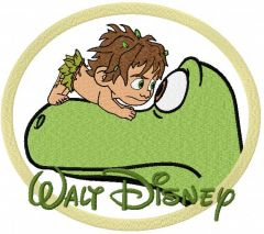 Arlo and Spot embroidery design 2
