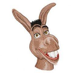 Donkey Shrek's Friend embroidery design
