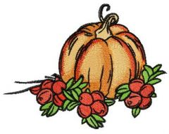 Autumn gifts 3 embroidery design