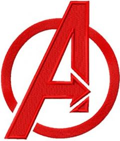 Avengers Logo embroidery design