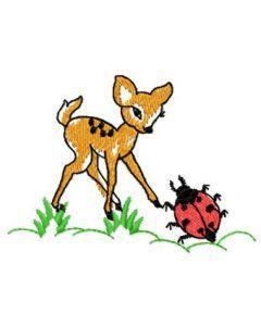 Bambi and Bug embroidery design