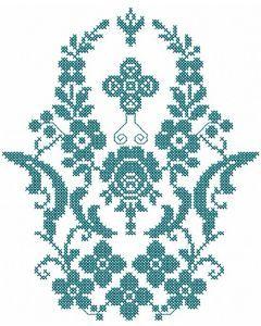 Baptism decoration embroidery design