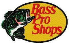 Bass Pro Shops logo embroidery design