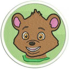 Bear 2 embroidery design