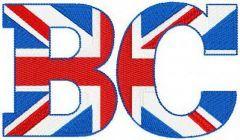 Big Carp magazine embroidery design