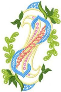 Big Decoration Element embroidery design