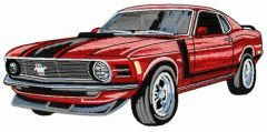 BOSS 302 car 2 embroidery design