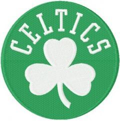 Boston Celtics Alternate Logo machine embroidery design
