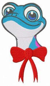 Bruni embroidery design