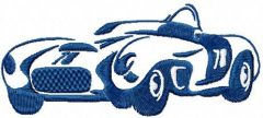 Bugatti embroidery design