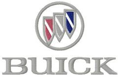 Buick logo embroidery design