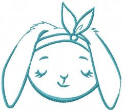 Bunny dream free embroidery design