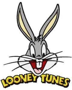 Bunny Looney tunes embroidery design