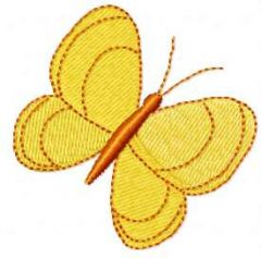 Butterfly 31 embroidery design