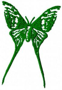 Butterfly 32 embroidery design