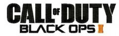 Call of Duty Black Ops 2 logo embroidery design
