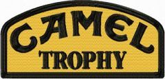 Camel Trophy Logo embroidery design