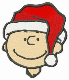 Charlie's Christmas embroidery design