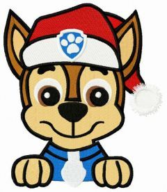 Chase's X-mas embroidery design