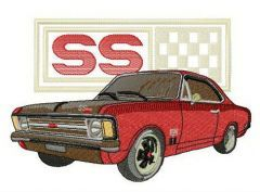 Chevrolet Chevelle SS embroidery design