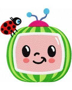 Cocomelon embroidery design