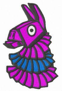 Colorful pinata embroidery design