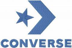 Converse logo 2017 embroidery design