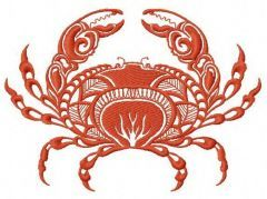 Crab 2 embroidery design