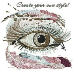 Create your own style embroidery design