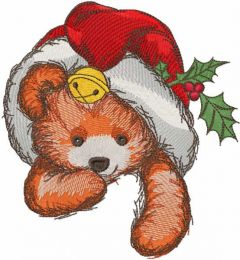 Cute Christmas toy embroidery design