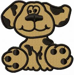 Cute dog 12 embroidery design