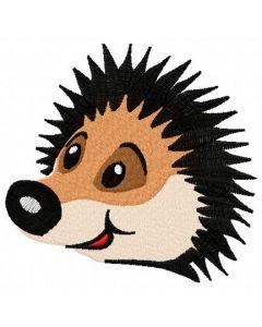 Cute hedgehog 2 embroidery design