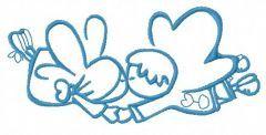 Cute little fairy 15 embroidery design