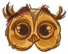 Cute owl 6 embroidery design