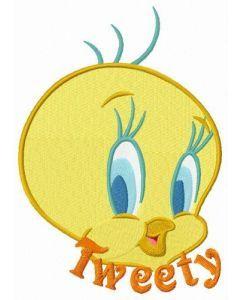Cute Tweety embroidery design