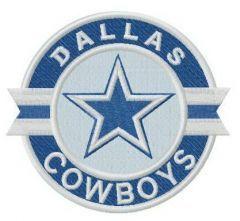 Dallas Cowboys logo 3 embroidery design