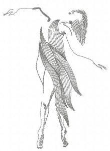 Dancing queen embroidery design