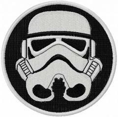 Darth Vader 6 embroidery design