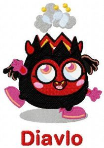 Diavlo embroidery design