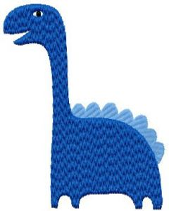 Dino 2 embroidery design