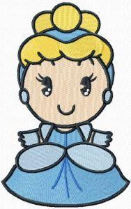 Disney Cuties Aurora embroidery design