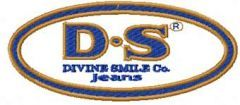 Divine Smile Co. Jeans Logo embroidery design