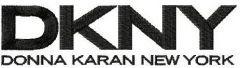 DKNY logo embroidery design