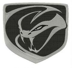 Dodge Viper Stryker embroidery design