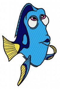 Dory 3 embroidery design